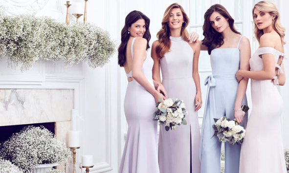 Bridesmaid at                      SWO Couture - The Dessy collection