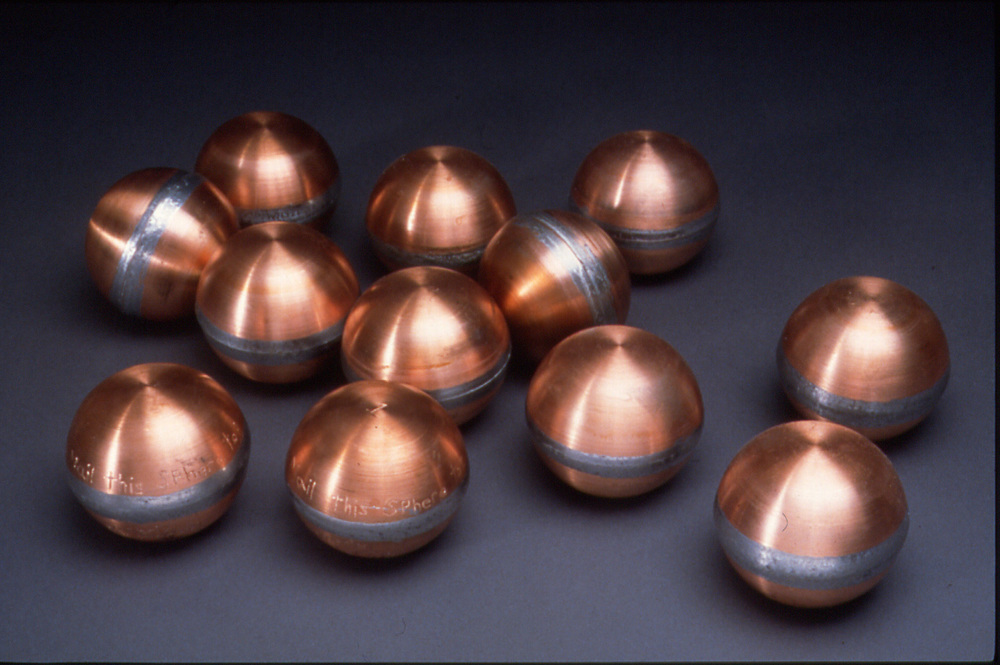 The original group of 12 spheres