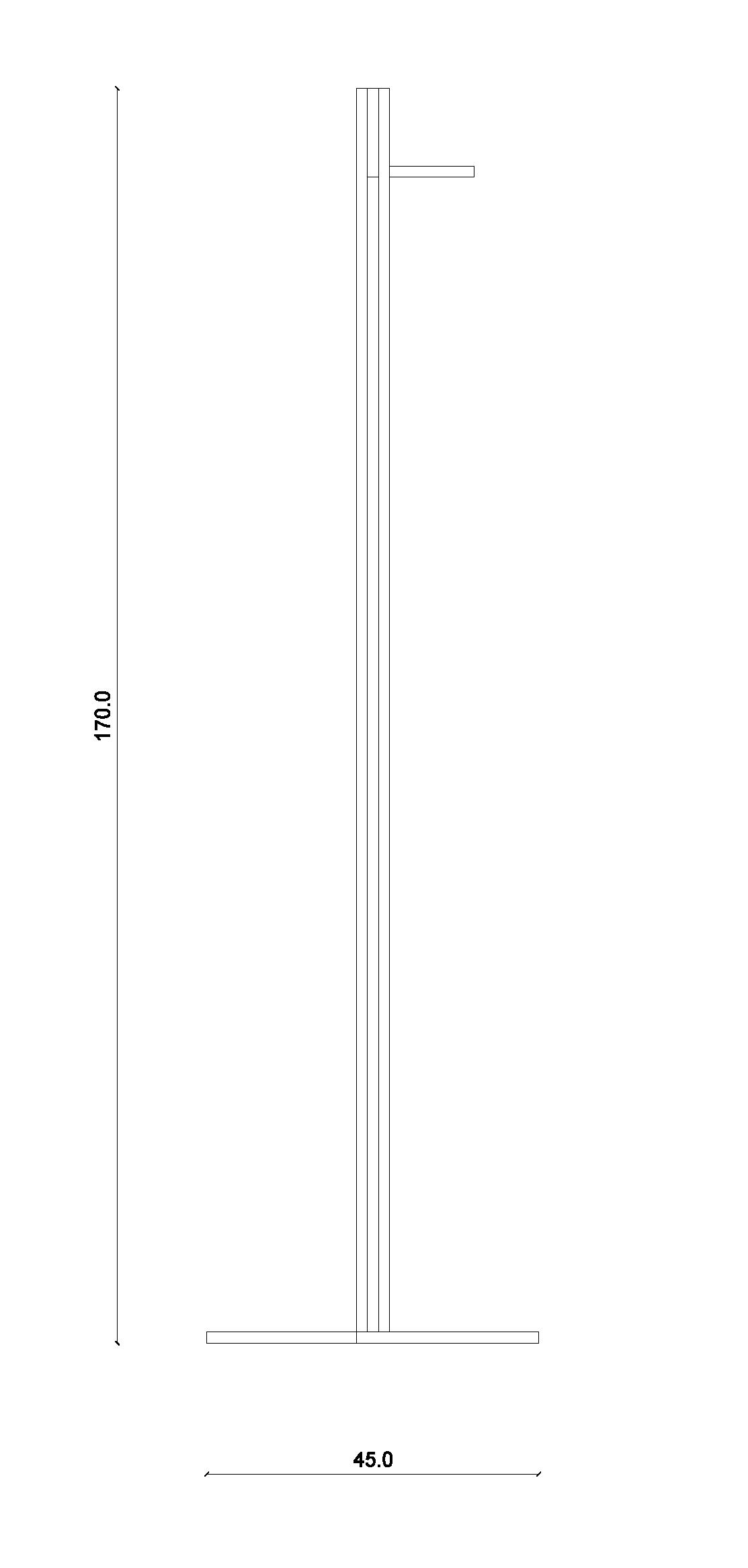Appendiabiti Di Design Moderno.L101 Appendiabiti Moderno Dal Design Minimale Lanzi