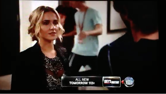 Actually...that's me in the blue shirt playing an intern on the ABC show, Nashville. No joke.
