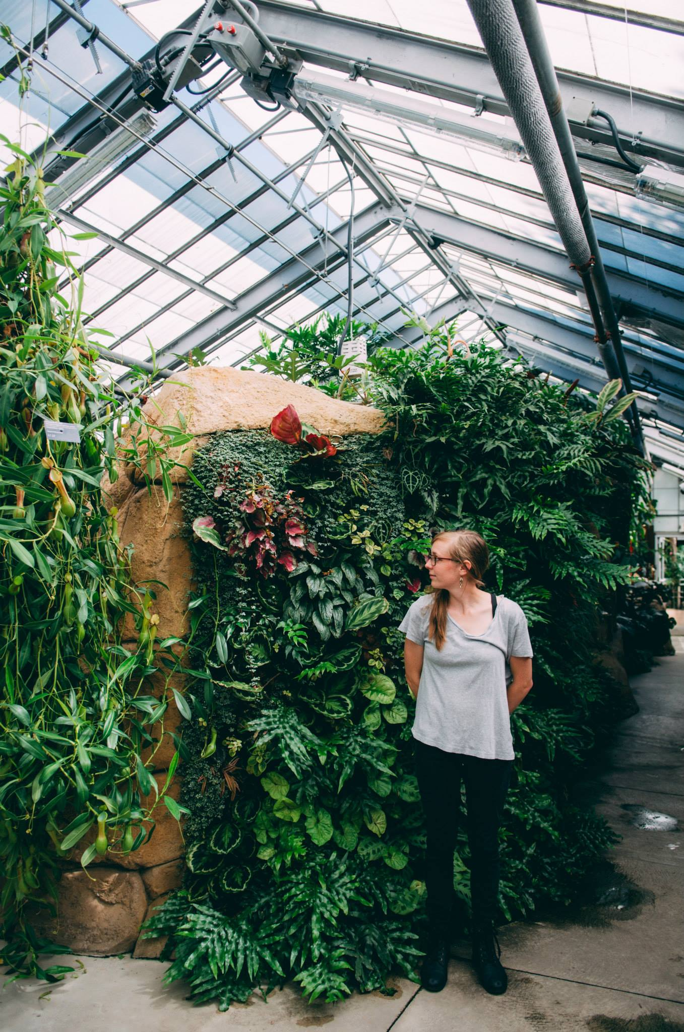 Cari Griffith is the Produce Manager at Grubb's Grocery and the creator of  J  ackson Harvest Share .She is also a freelance photographer and part-time terrarium builder.