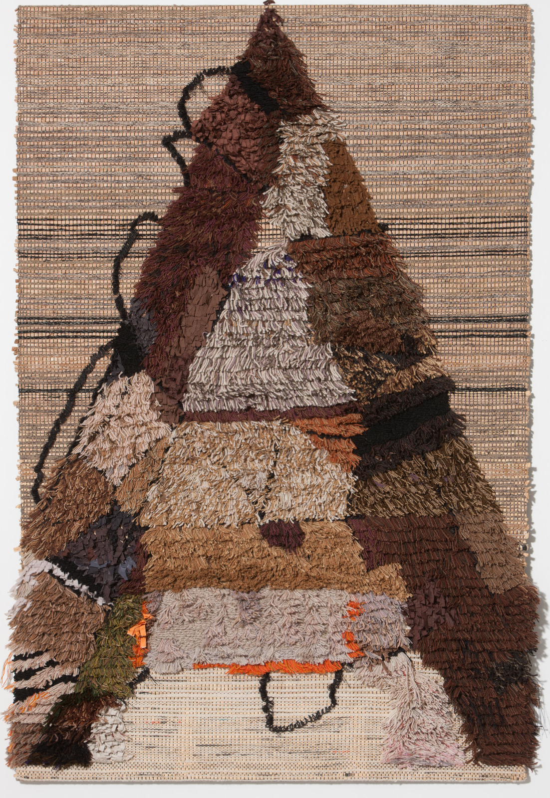 Handwoven carpet by Leo Wollner