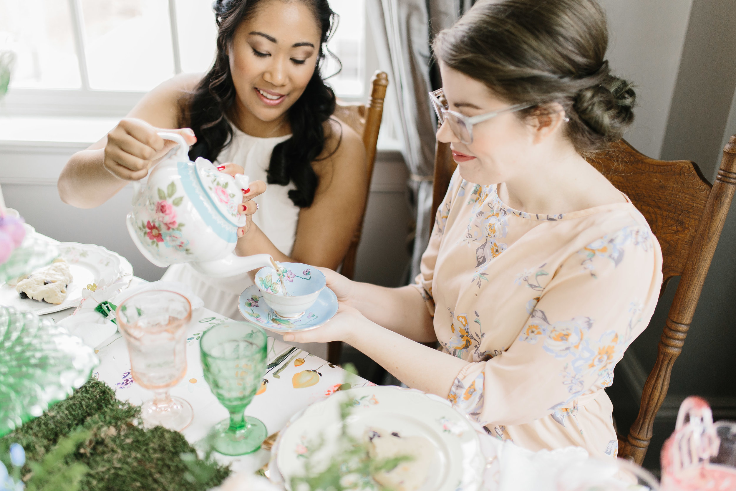 Styled Bridal Shower Tea Shoot
