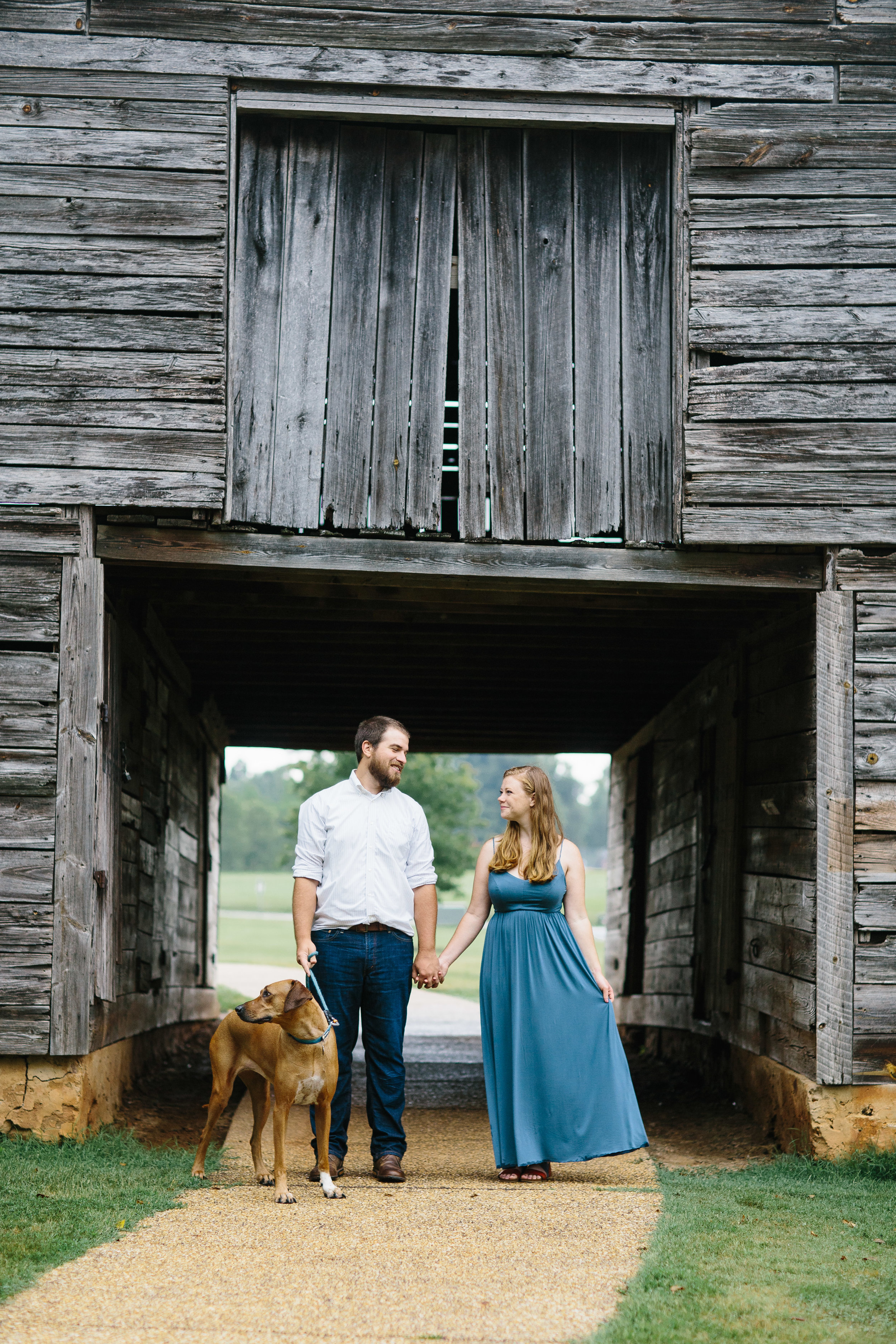E Carroll Joyner Park.Wake Forest Photographer.Engagement photo inspiration.photos with a dog.engagement photos with a dog.JPG