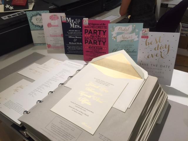 Designer Invitation albums and Custom Invitations