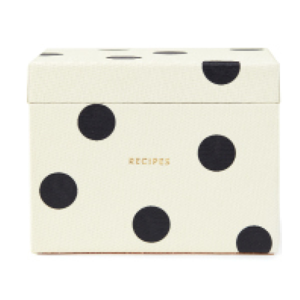 kate spade new york Recipe Box