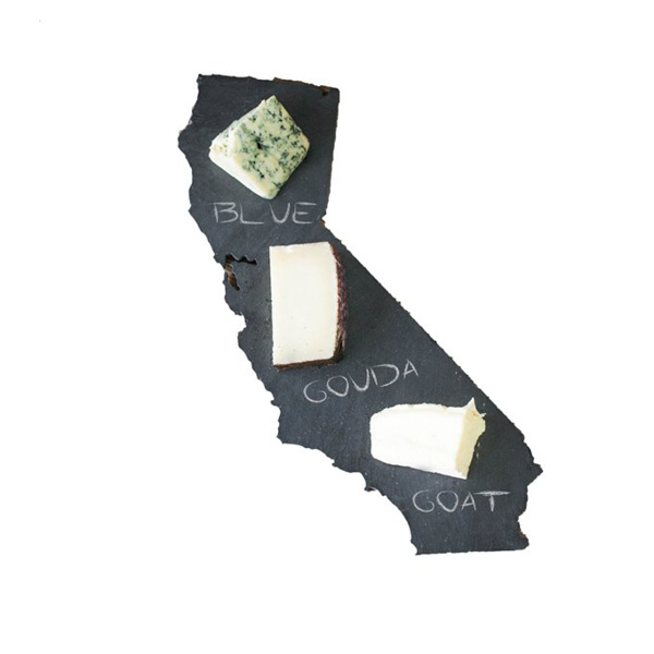 State Slate Cheese Board