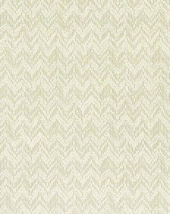 BRIDGET I COLOR #36  An overcast mist grey in a broken chevron. Printed on 100% linen, Oyster.