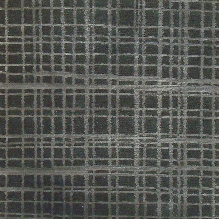 54. GRIDLOCK I CHROME I 7-3 Wool & Silk