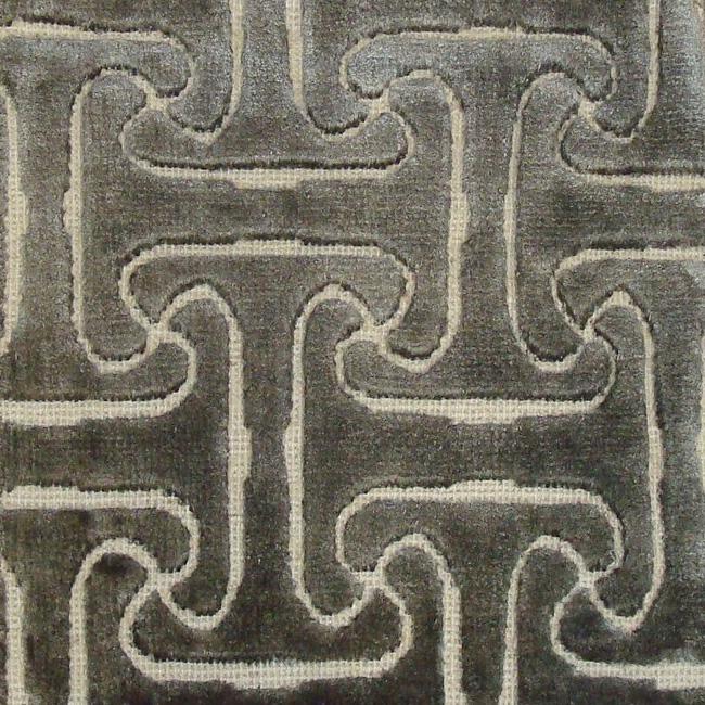 61. INFINITY I SCROLL I 7-3 Wool & Bamboo Silk