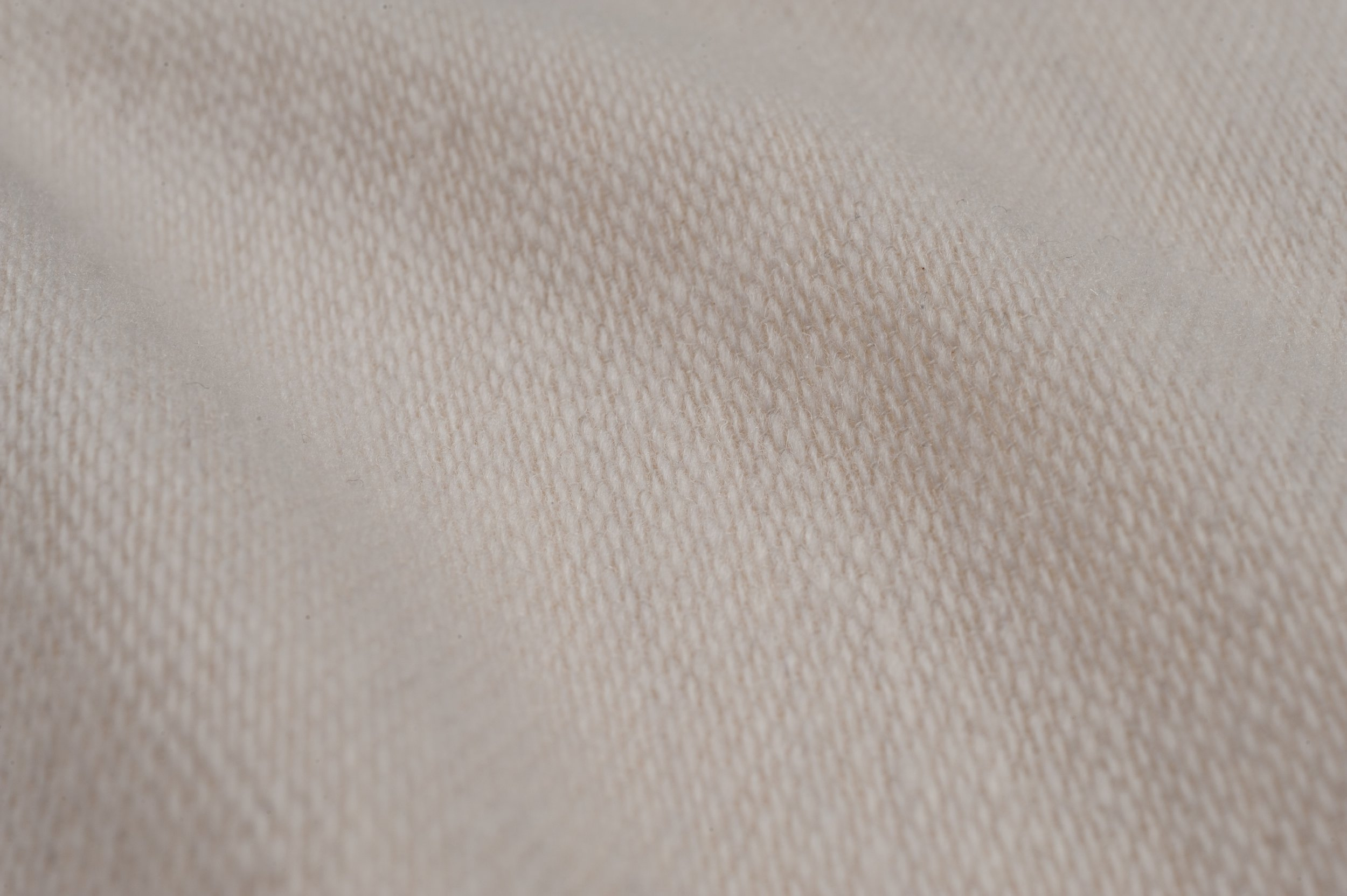 TEXTURED WOOL I CREAM