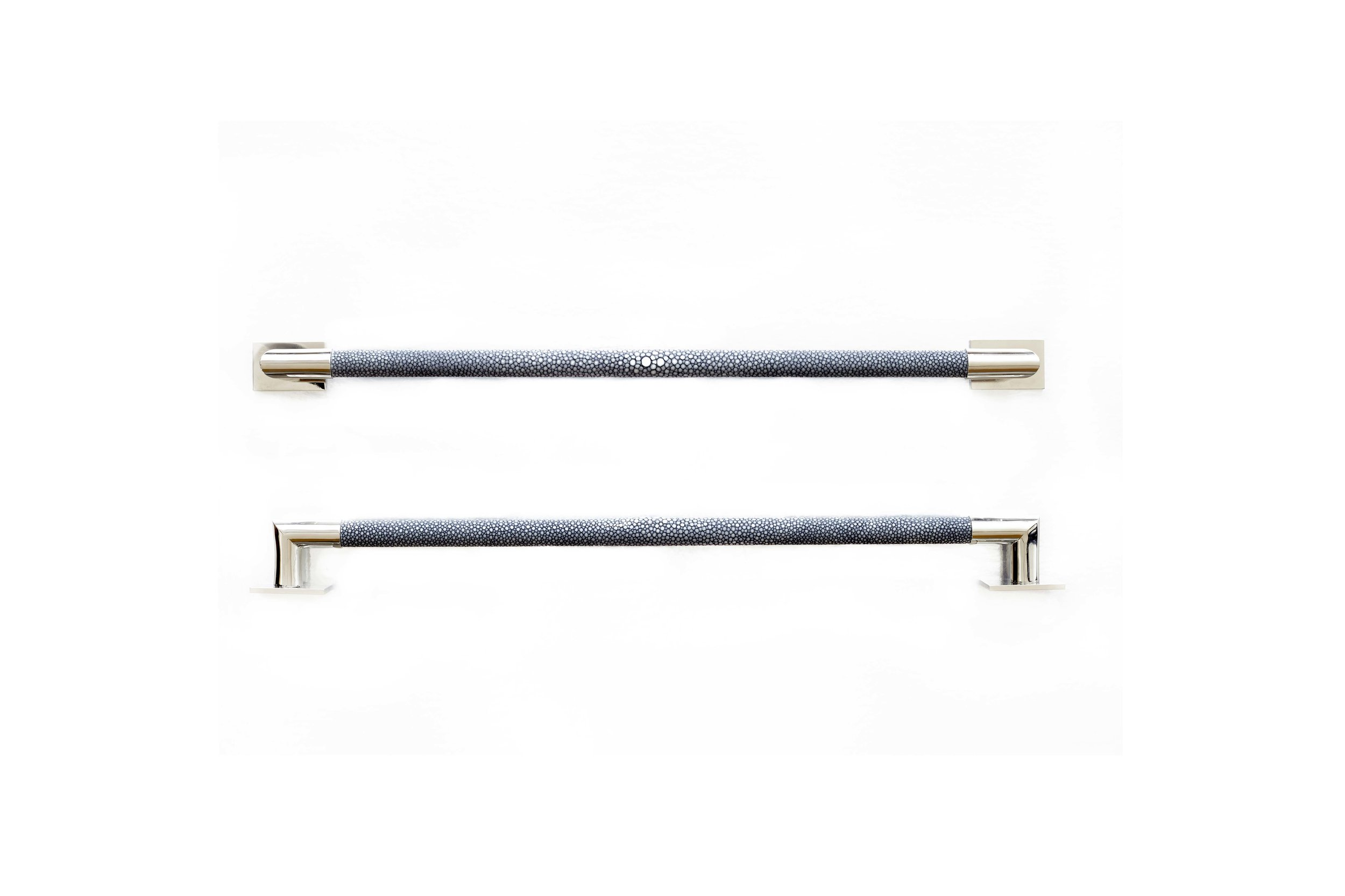 CABINET PULLS I GREY FROST I STINGRAY  Polished Nickel