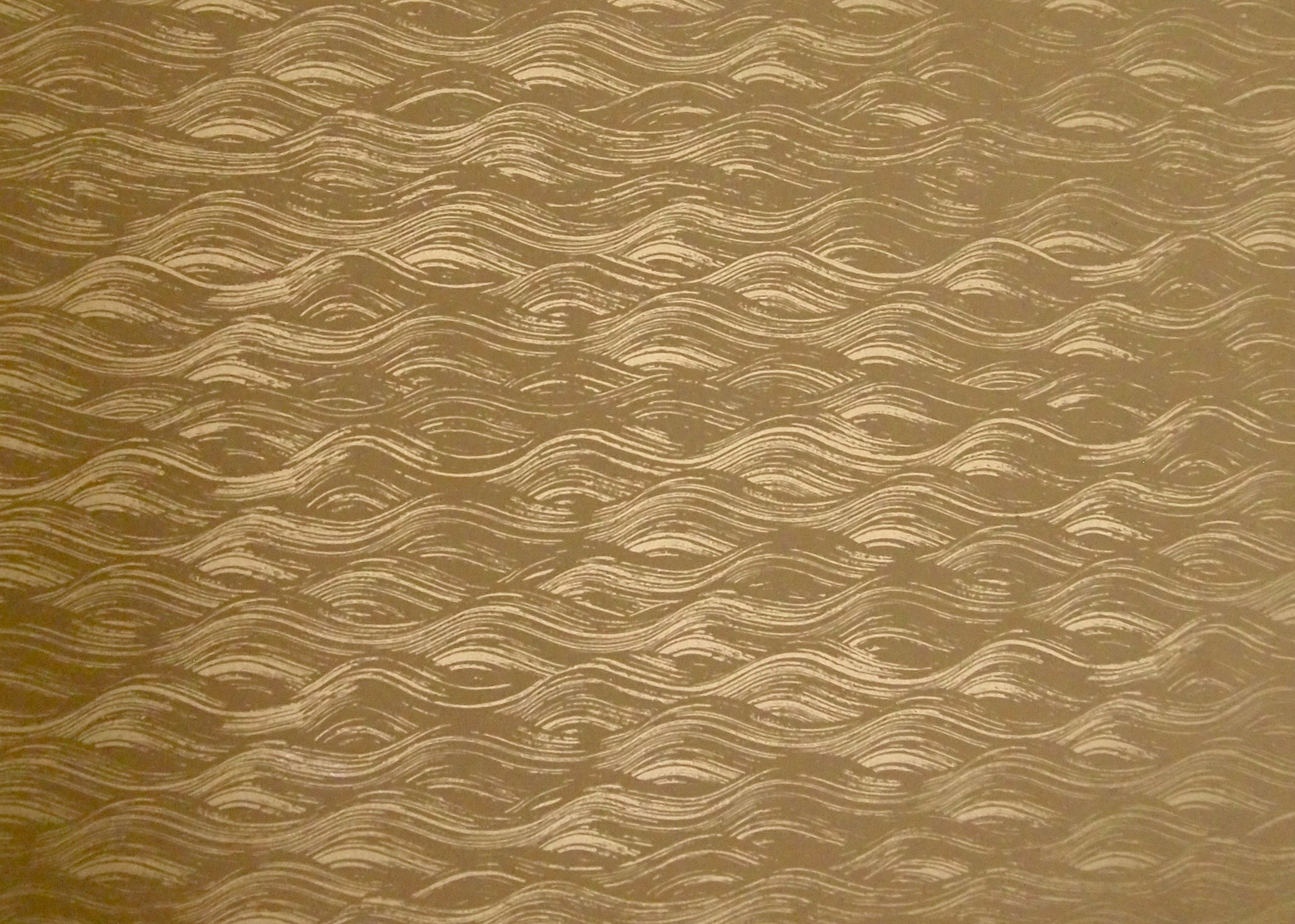 PAINTED WAVE I GOLD