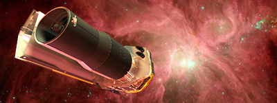 For more info about Spitzer, see  http://www.spitzer.caltech.edu