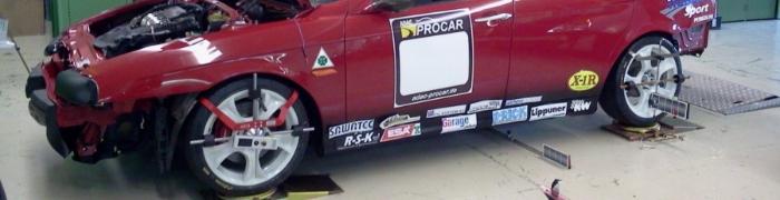 Race Car Suspension