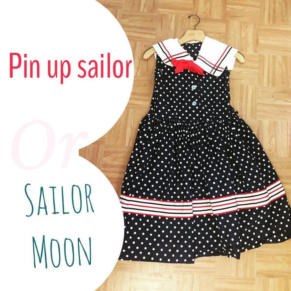 sailor moon, pin up dress