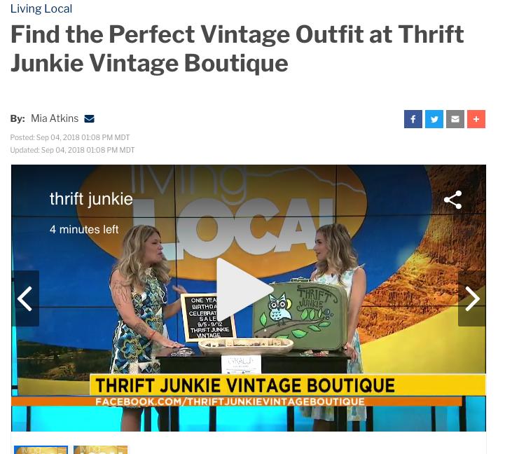 thrift junkie vintage colorado springs
