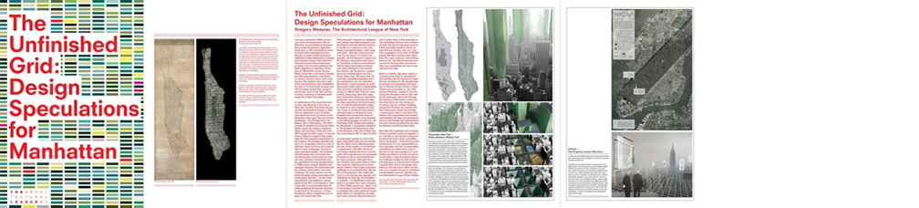 The Unfinished Grid: Design Spectulations for Manhattan, pg, New York, July 2012  /  P roject: NYCity2