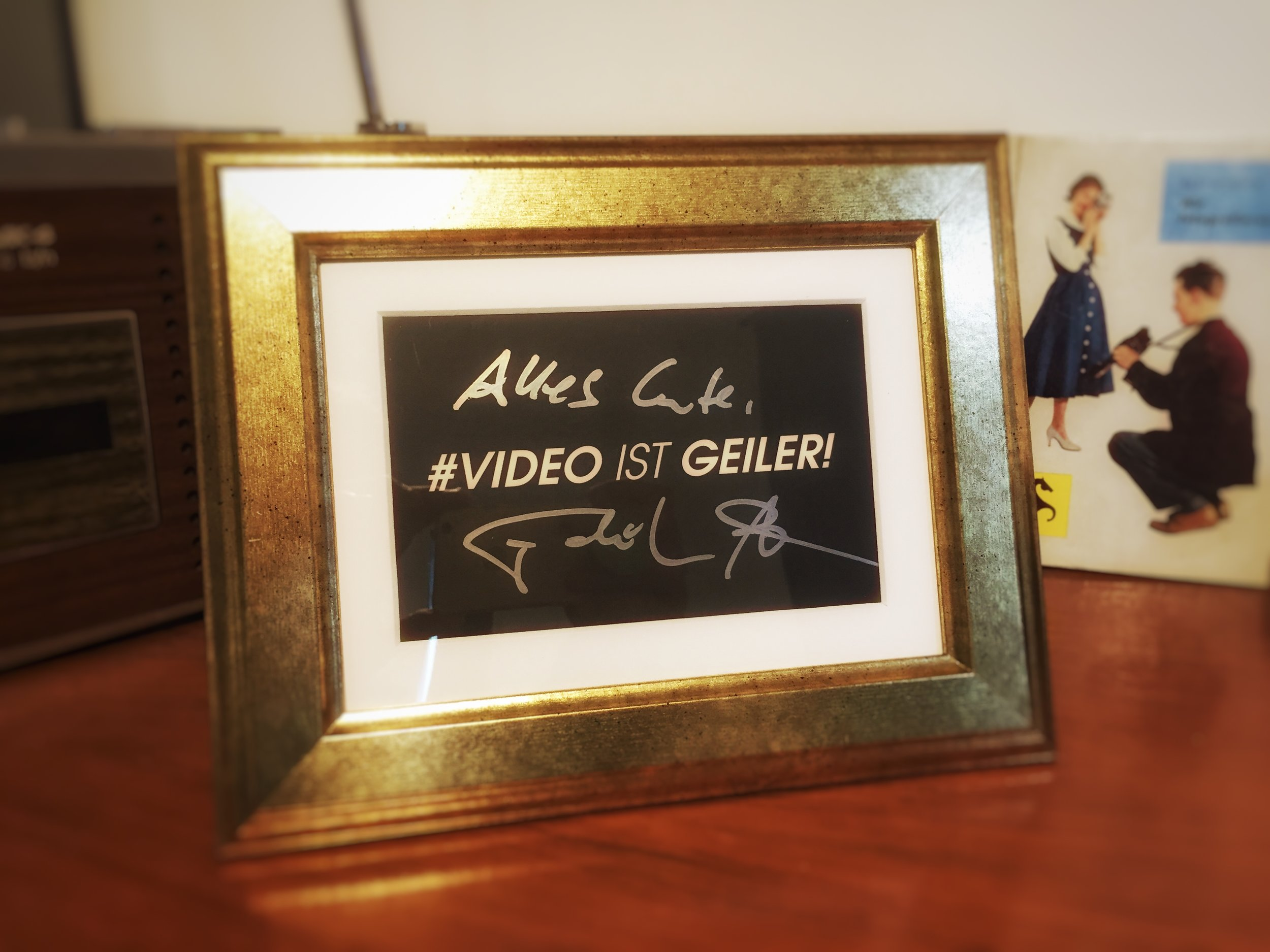 Autogramm Fatih Akim