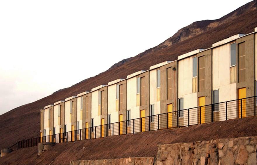 95 viviendas incrementarles. Antofagasta. 2008. www.elementalchile.cl