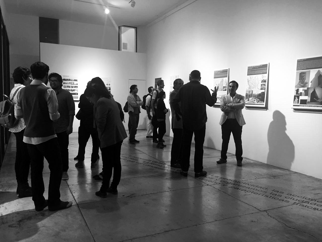 "Inauguración de la exposición ""Arquitectura como intervención"". Viviana Reyes."