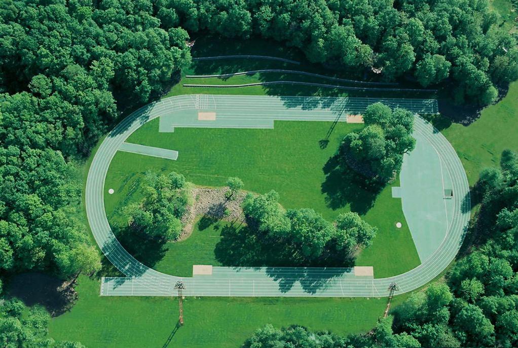 Estadio de Atletismo, Olot, Girona. España.