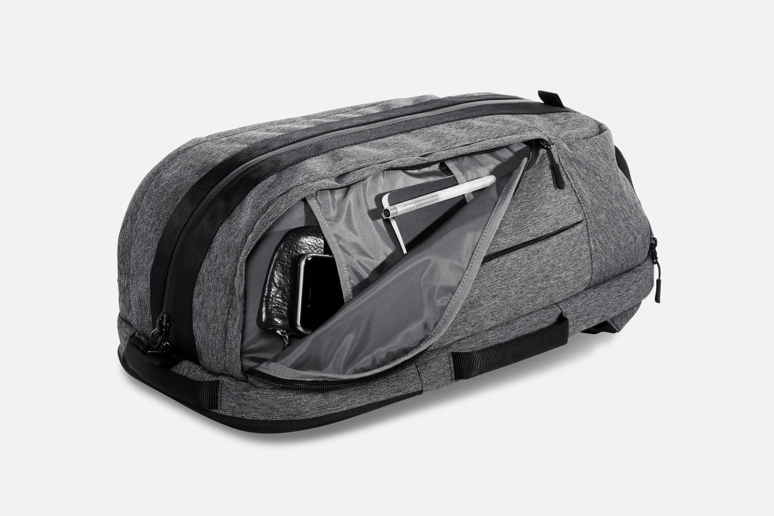 Aer Duffel Pack Gym/Work Pack Sport  Bag Side Pocket