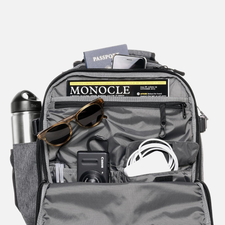 Smart Interior Pocket Organization Travel Backpack