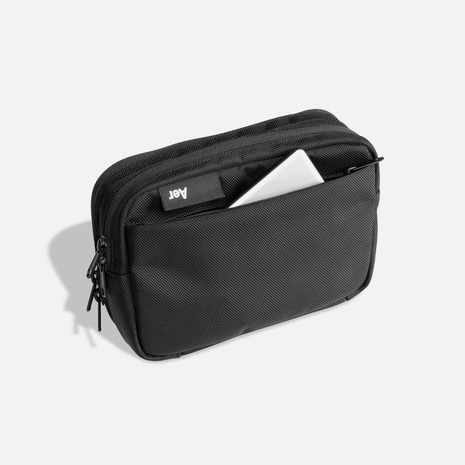 Quick access pocket for additional storage.