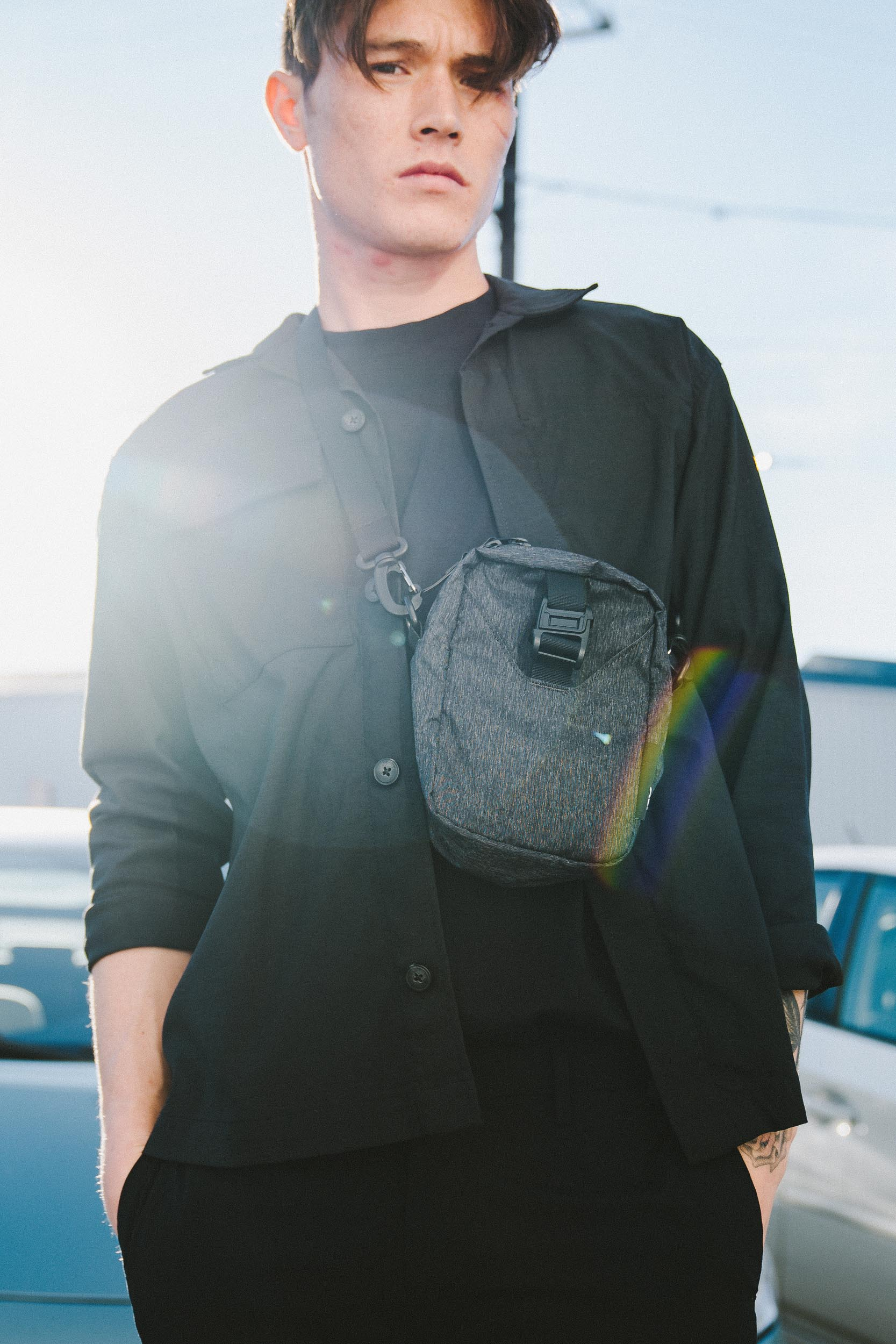 The Go Sling keeps your travel essentials close at hand.