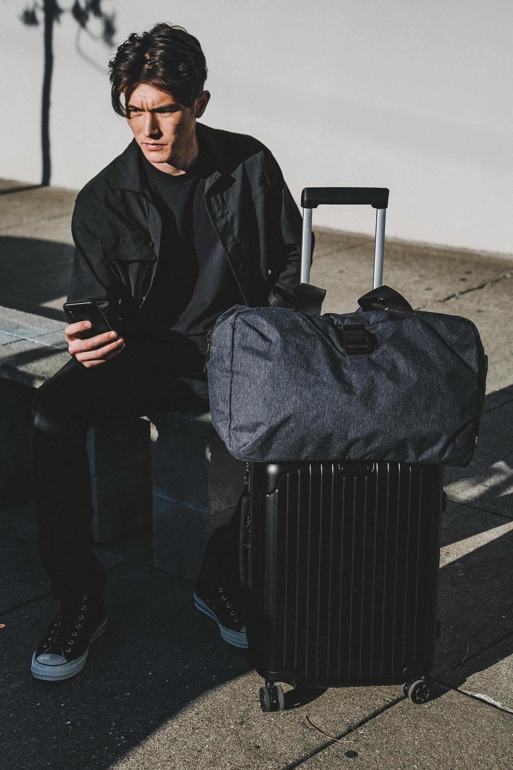 The Go Duffel provides overflow storage for gifts or souvenirs.