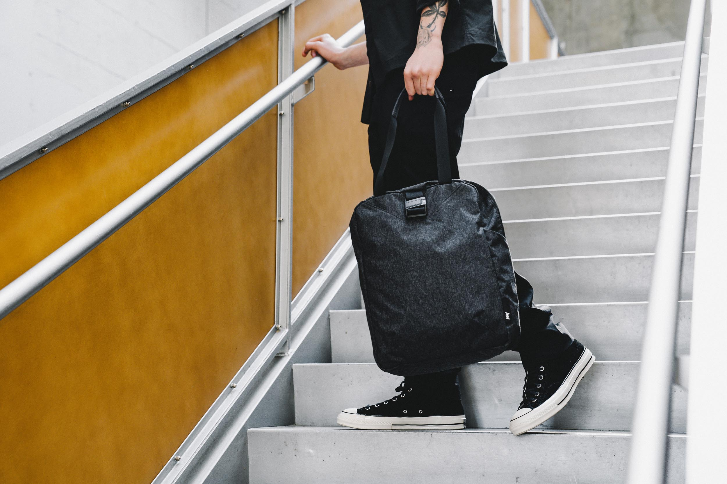 The Go Tote offers style and function during your travels.