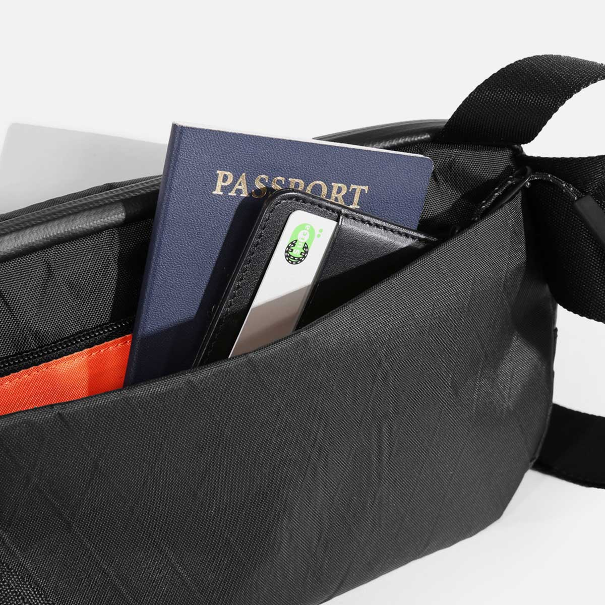 Keep your passport or wallet safe and secure.