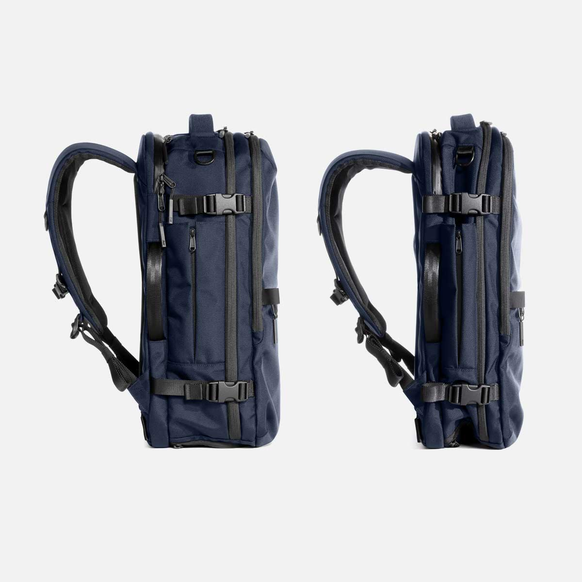 Go from a carry-on backpack to a daypack.