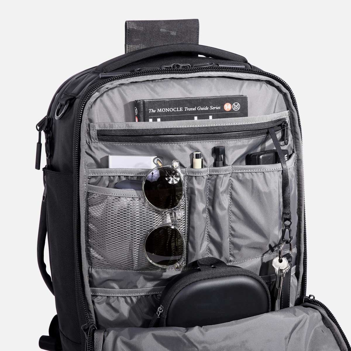 Multiple pockets keep you organized and prepared.