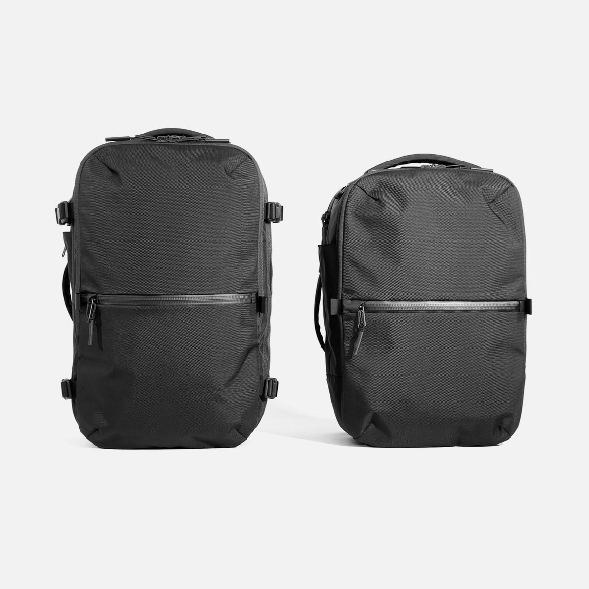 15% smaller in volume than the Travel Pack 2.