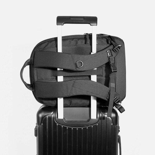 Slides over luggage handles for secure travel.