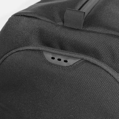 Laser-cut ventilation details.