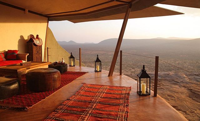 I will be posting frequently about my favorite camps in Africa, and today's featured camp is Saruni Samburu. Saruni Samburu is one of those places that combine special staff, a superb and unique wildlife experience, rooms with views to die for and that something extra that cannot easily be defined. The camp is situated on a large set of hills, outside of Samburu National Reserve and in Kalama Conservancy. The views from camp are absolutely stunning and it creates a challenge for the wildlife photographer: should you be on a game drive at sunset or should you be back at camp? 🤷🏼♂️ If you stay long enough you can do both. 🙌🏼👊🏼 Samburu National Reserve is a great place for your safari game drives and it sucks in elephant herds and other wildlife down to the river, where most game drives take place. It is where I saw one of my most unique sightings of my career: 5 African wild cat cubs and their mother. Saruni Samburu has lovely staff, two swimming pools to choose from and a relaxing feel that will make your shoulders come down a few inches. You can visit the camp either at the beginning or end of your safari, as it combines well with other camps in northern Kenya and the Masai Mara. I prefer to have my guests stay in northern Kenya for 1 or 2 other camps, because the diversity of landscape, wildlife and people is something my travelers should experience in the north. @saruni.lodges #sarunisamburu #samburu #kenya #safari #nature #disconnecttoreconnect #andybiggssafaris