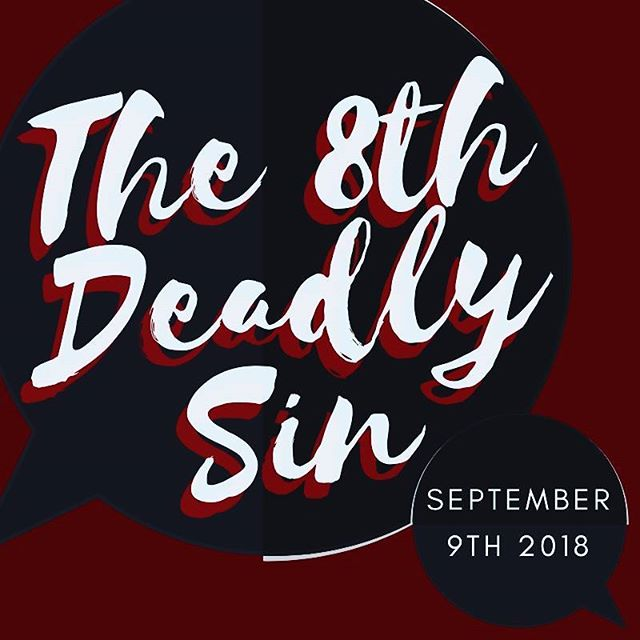 Sermon, September 9th: The 8th Deadly Sin  Selected Scripture Dr. Charles Kimball  Meetings this Week: Church Council  11:30 am Monday, September 10 Personnel Committee Meeting  3:00 pm Tuesday, September 11 Finance Committee Meeting  4:30 pm Tuesday, September 11 Prayer Meeting  5:30 pm Wednesday, September 12
