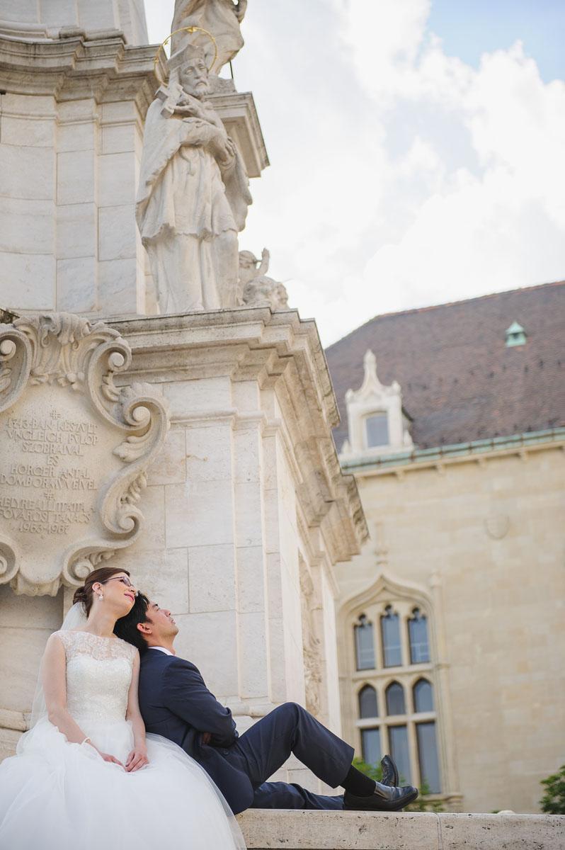 Esküvő fotózás, esküvő fotós - Budapest, Budai vár