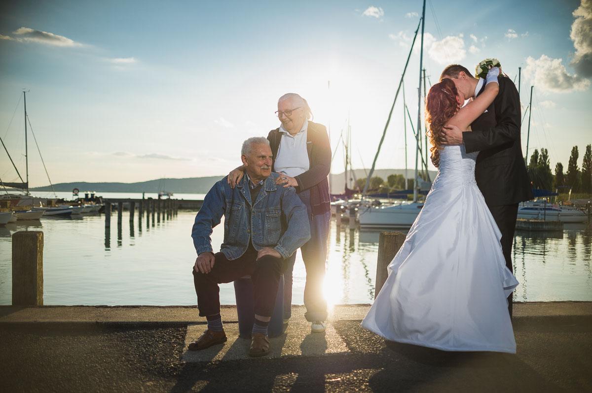 Esküvői fotózás - Balaton