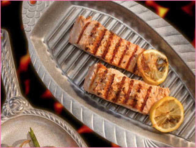 Wilton Grillware  - Perfect for the grilling enthusiast, the accessories you need to grill anything to perfection! Designed with presentation in mind so you can grill and serve all in one plate.