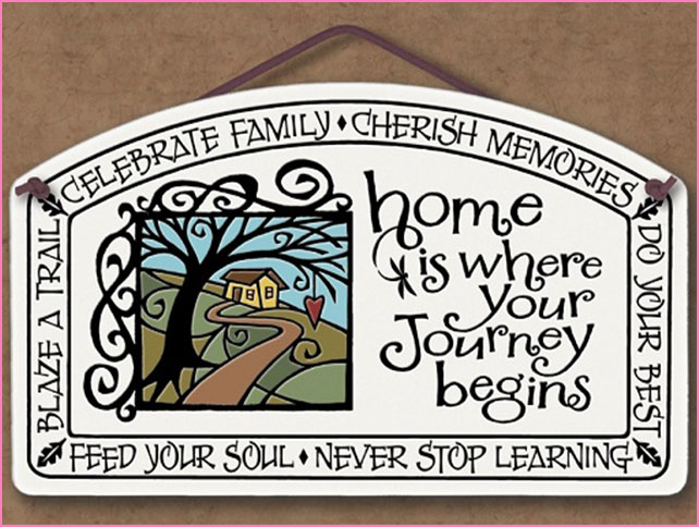 Spooner Creek  - Michael Macone creates charming clocks, frames, and mirrors, with hand crafted pressed clay tiles. Tile have quotations and famous sayings.