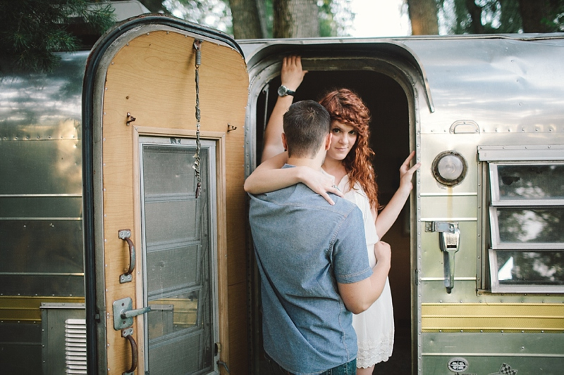 Leah & Peter | Engaged | The Camper
