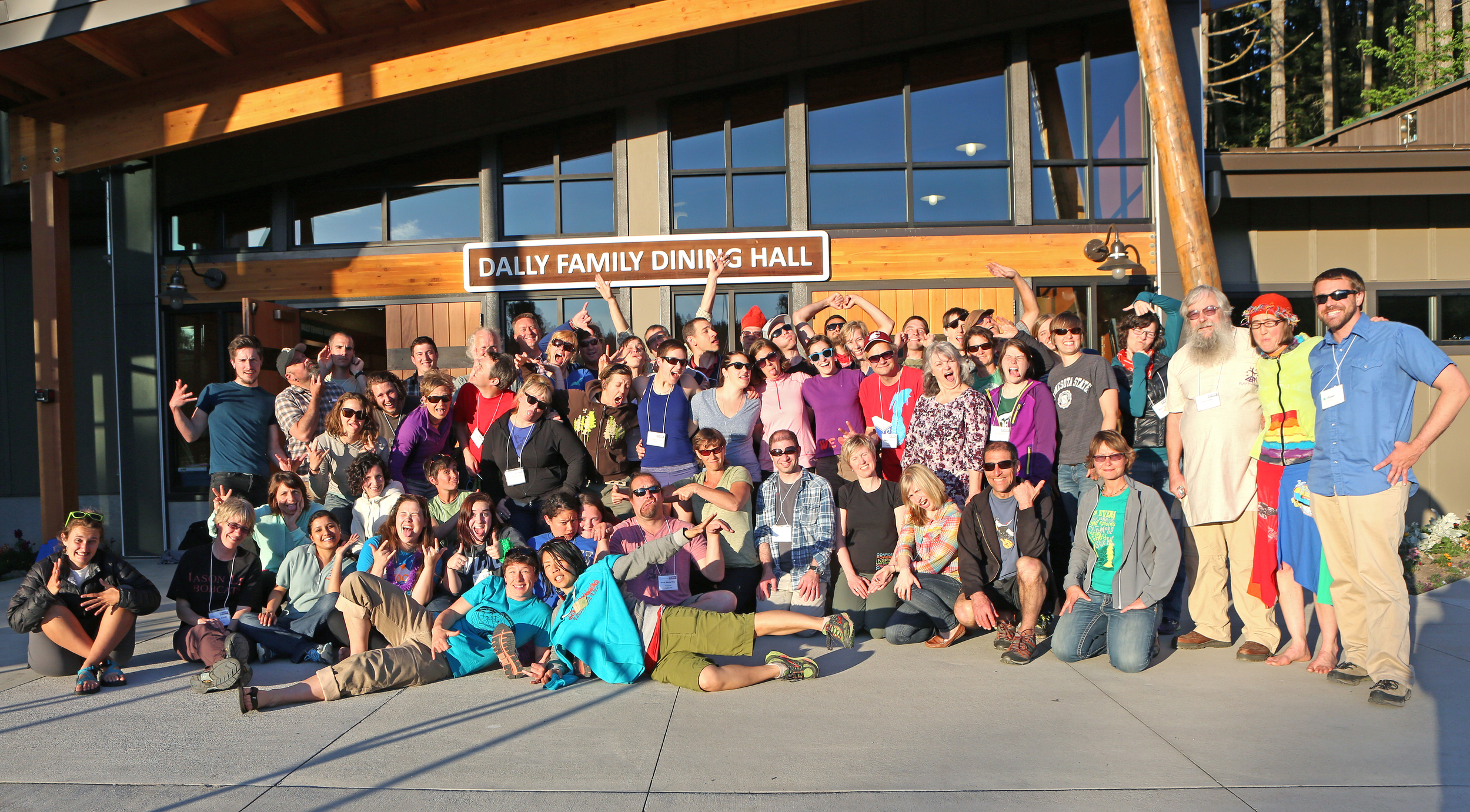 """An amazing group of experiential educators from all over the Northwest gathered together to make """"shift happen""""!"""