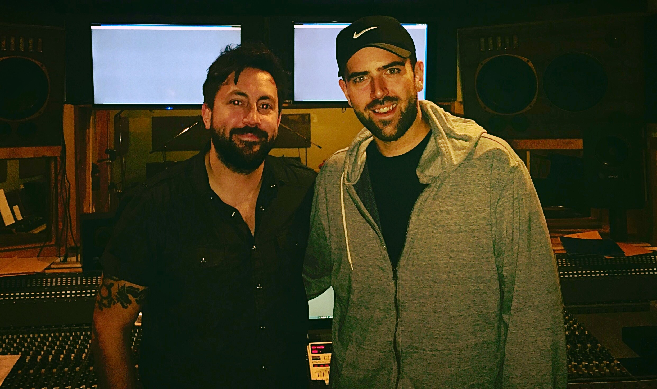 Studio w/ Aaron Fink (formally of Breaking Benjamin)