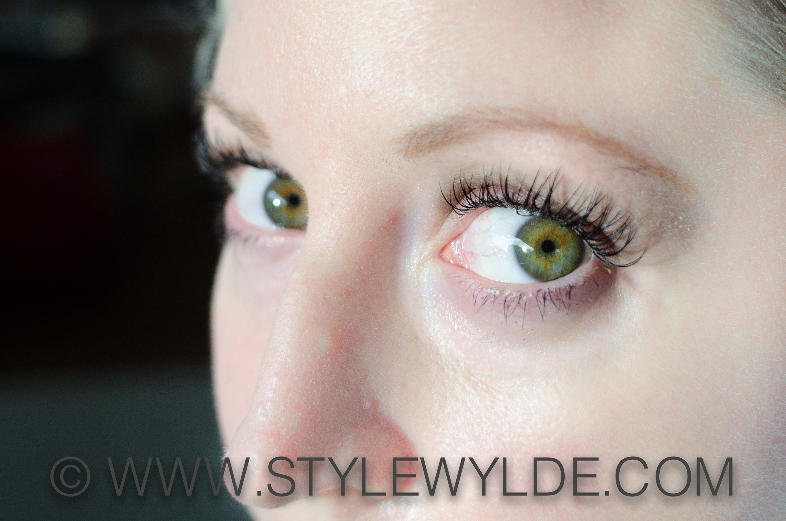 me! With lashes/Image:S.Whittle for Style Wylde