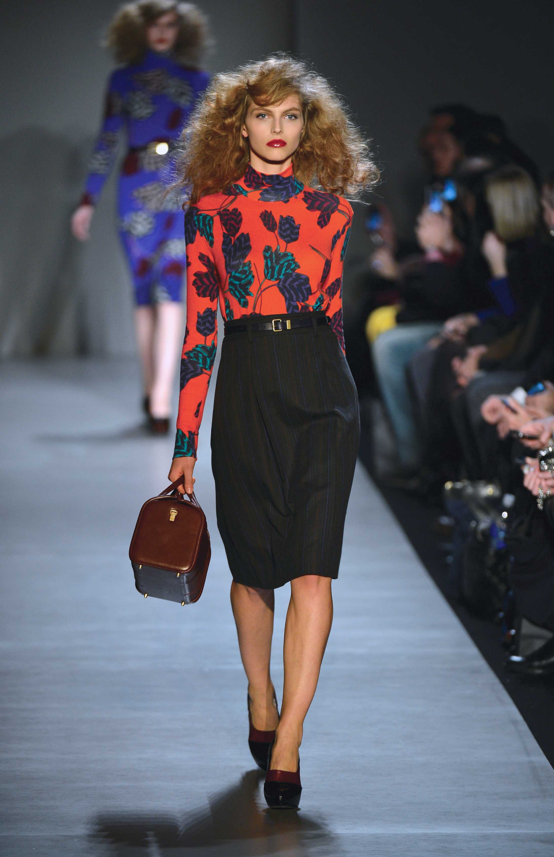 Marc by Marc Jacobs was ALL about the knee length pencil skirt/Image: Frazer Harrison Getty North America
