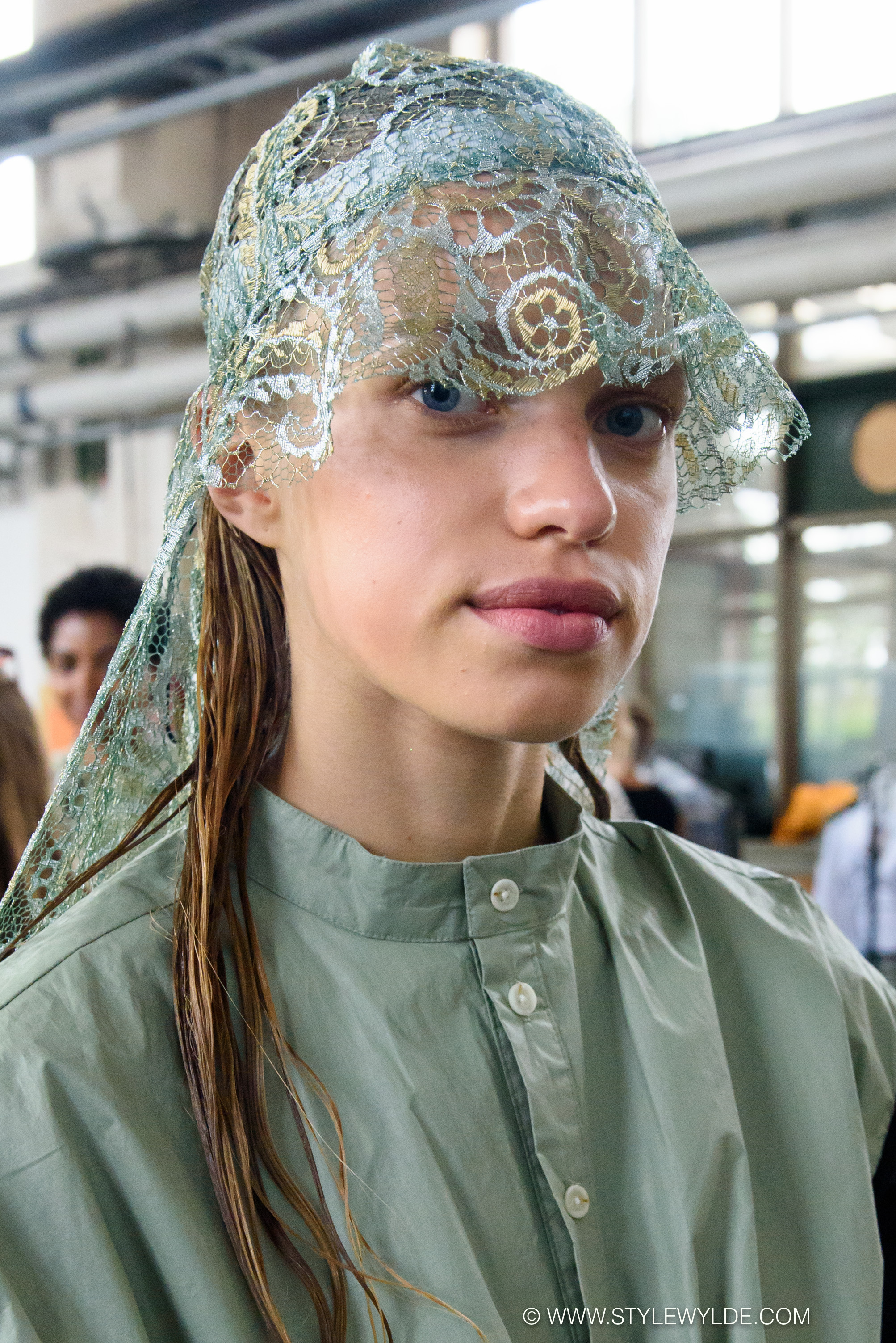 Tropics meet techno - with a serious dose of sporty street style, was the vibe at the Astrid Andersen Spring 2018 show.